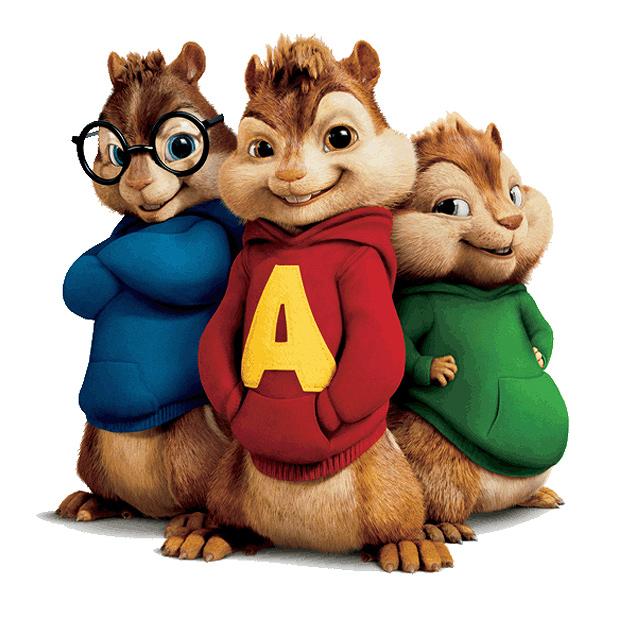 Alvin And The Chipmunks Puppy Bunny Guinea Pretty