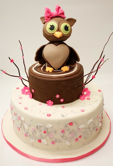 and tiny feet, a very nice cake for a girl's birthday. This cake ...